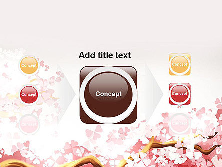 Cherry Blossom PowerPoint Template Slide 17