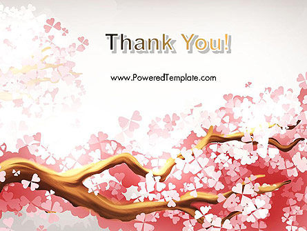 Cherry Blossom PowerPoint Template Slide 20