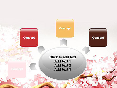 Cherry Blossom PowerPoint Template Slide 7