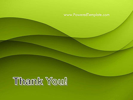 Abstract Green Gradient Wave Background PowerPoint Template Slide 20