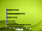Abstract Green Gradient Wave Background PowerPoint Template#17