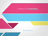 Abstract/Textures: Color Papers Geometry Flat Composition PowerPoint Template #14542