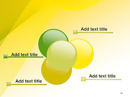 Yellow-green Abstract Soft Background PowerPoint Template Slide 10