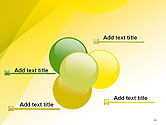 Yellow-green Abstract Soft Background PowerPoint Template#10