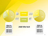 Yellow-green Abstract Soft Background PowerPoint Template#11
