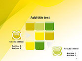 Yellow-green Abstract Soft Background PowerPoint Template#16