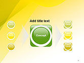 Yellow-green Abstract Soft Background PowerPoint Template#17