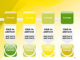 Yellow-green Abstract Soft Background PowerPoint Template#18
