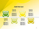 Yellow-green Abstract Soft Background PowerPoint Template#19