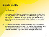 Yellow-green Abstract Soft Background PowerPoint Template#2