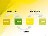 Yellow-green Abstract Soft Background PowerPoint Template#4