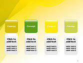 Yellow-green Abstract Soft Background PowerPoint Template#5