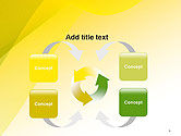 Yellow-green Abstract Soft Background PowerPoint Template#6