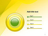 Yellow-green Abstract Soft Background PowerPoint Template#9