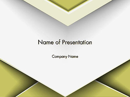 Overlap Paper Layers PowerPoint Template, 14548, Abstract/Textures — PoweredTemplate.com