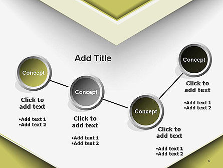 Overlap Paper Layers PowerPoint Template Slide 6
