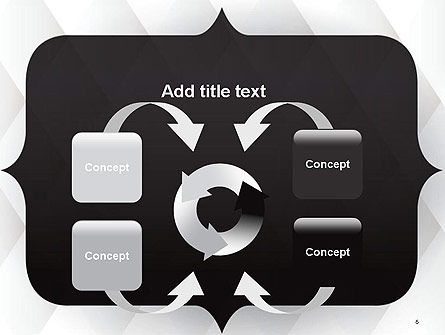 Frame for Text PowerPoint Template Slide 6