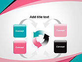 Abstract Background with Curve Line Pattern PowerPoint Template#6