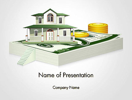 Financial/Accounting: Real Estate Investment PowerPoint Template #14560