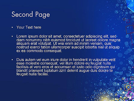 Vivid Colorful Abstract Background PowerPoint Template, Slide 2, 14561, Abstract/Textures — PoweredTemplate.com