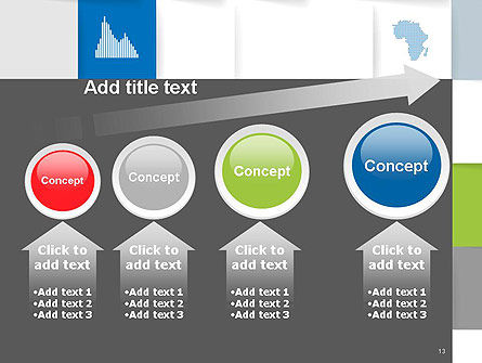Squares Background PowerPoint Template Slide 13