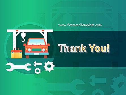 Car Repair Service PowerPoint Template Slide 20