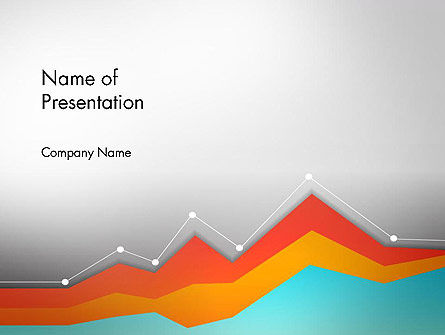 Abstract/Textures: Abstract Area Chart PowerPoint Template #14570