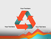 Abstract Area Chart PowerPoint Template#10