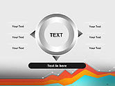 Abstract Area Chart PowerPoint Template#12