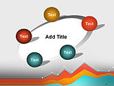 Abstract Area Chart PowerPoint Template#14