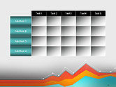 Abstract Area Chart PowerPoint Template#15