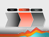 Abstract Area Chart PowerPoint Template#16