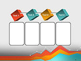 Abstract Area Chart PowerPoint Template#18