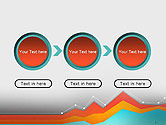 Abstract Area Chart PowerPoint Template#5