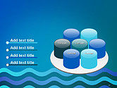 Wavy Background PowerPoint Template#12