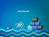 Wavy Background PowerPoint Template#13