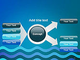 Wavy Background PowerPoint Template#15