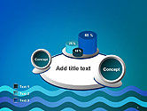 Wavy Background PowerPoint Template#6