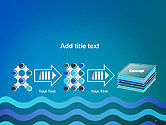 Wavy Background PowerPoint Template#9