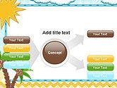 Children`s Photo Framework with Giraffe PowerPoint Template#14