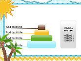 Children`s Photo Framework with Giraffe PowerPoint Template#8