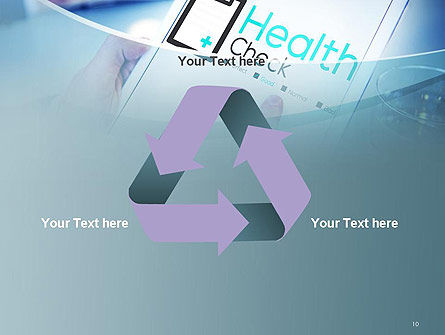 Health Check Diagnosis Concept PowerPoint Template Slide 10