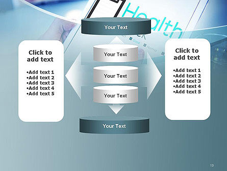 Health Check Diagnosis Concept PowerPoint Template Slide 13
