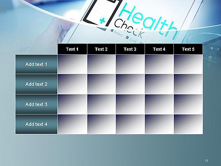 Health Check Diagnosis Concept PowerPoint Template Slide 15