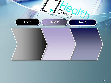 Health Check Diagnosis Concept PowerPoint Template Slide 16