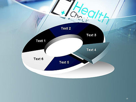 Health Check Diagnosis Concept PowerPoint Template Slide 19