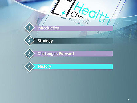 Health Check Diagnosis Concept PowerPoint Template, Slide 3, 14574, Business Concepts — PoweredTemplate.com