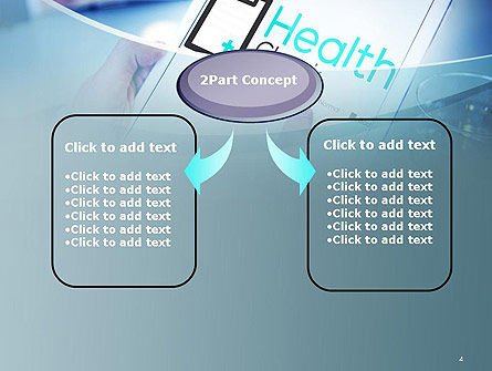 Health Check Diagnosis Concept PowerPoint Template, Slide 4, 14574, Business Concepts — PoweredTemplate.com