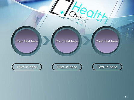 Health Check Diagnosis Concept PowerPoint Template Slide 5