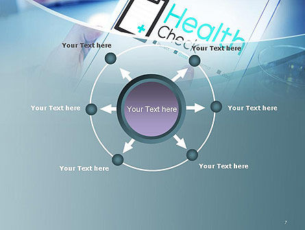 Health Check Diagnosis Concept PowerPoint Template Slide 7
